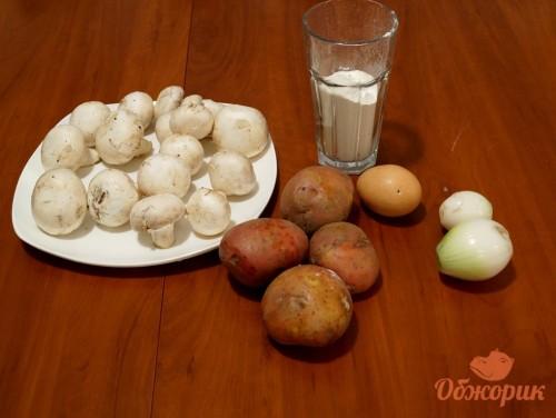 Приготовление драников с грибами