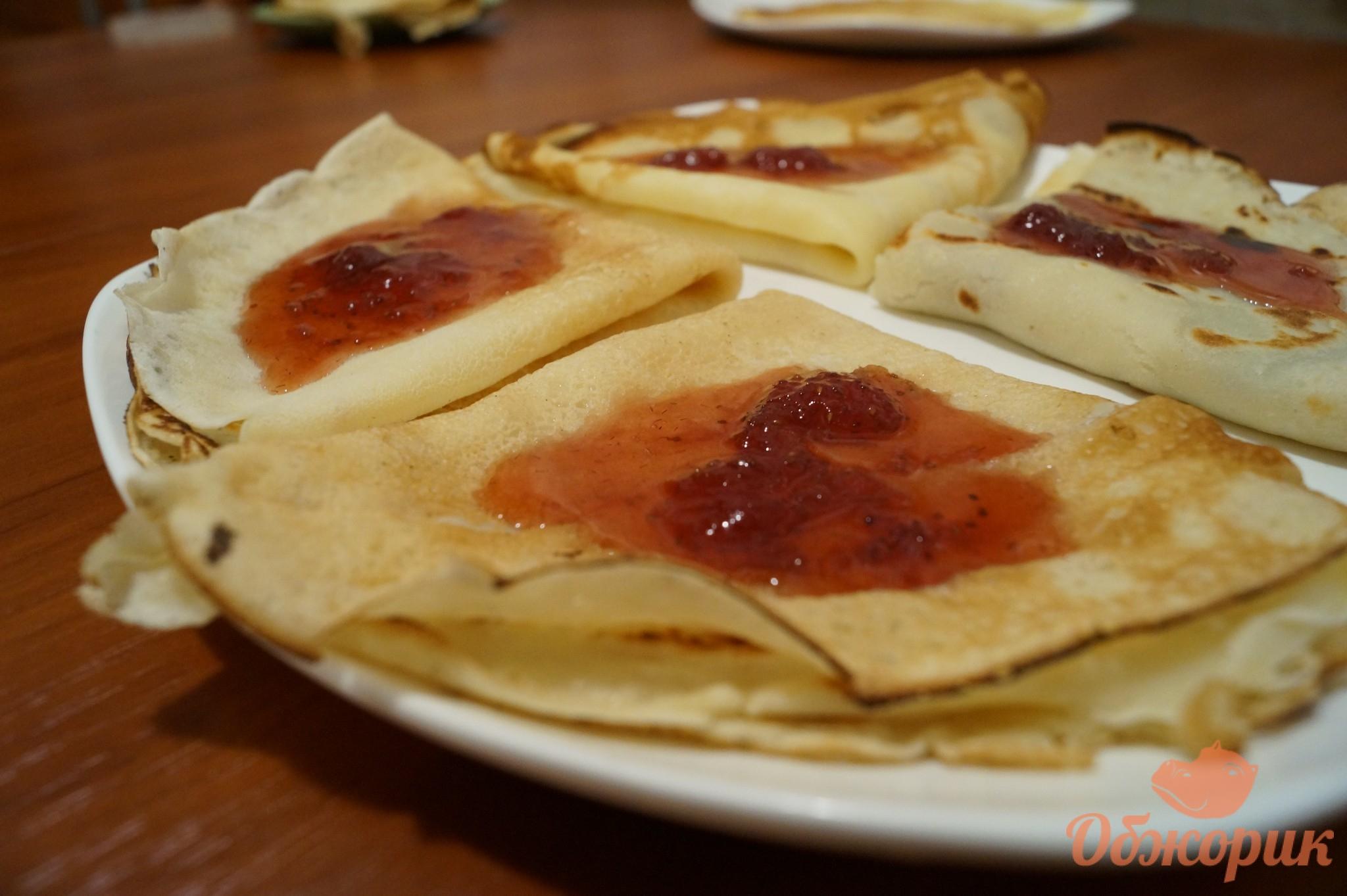 Блинчики с мясом рецепт пошагово на сковороде
