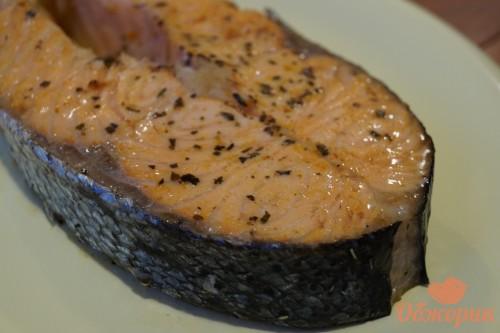 Стейки из лосося