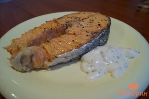 Приготовление стейков из лосося