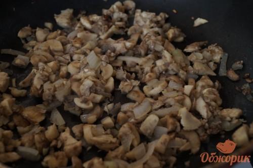 Приготовление фаршированных грибов