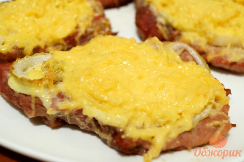 стейки свинины в духовке рецепт с фото из свинины