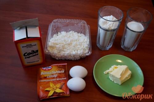 Приготовление творожных кексов