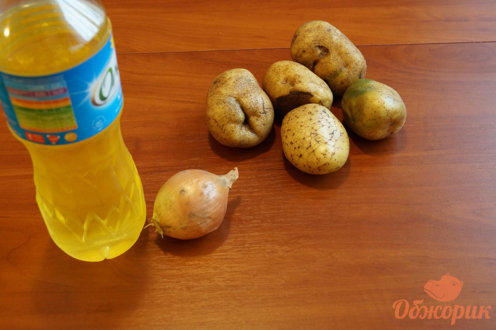 Приготовление жареной картошки пошагово 47