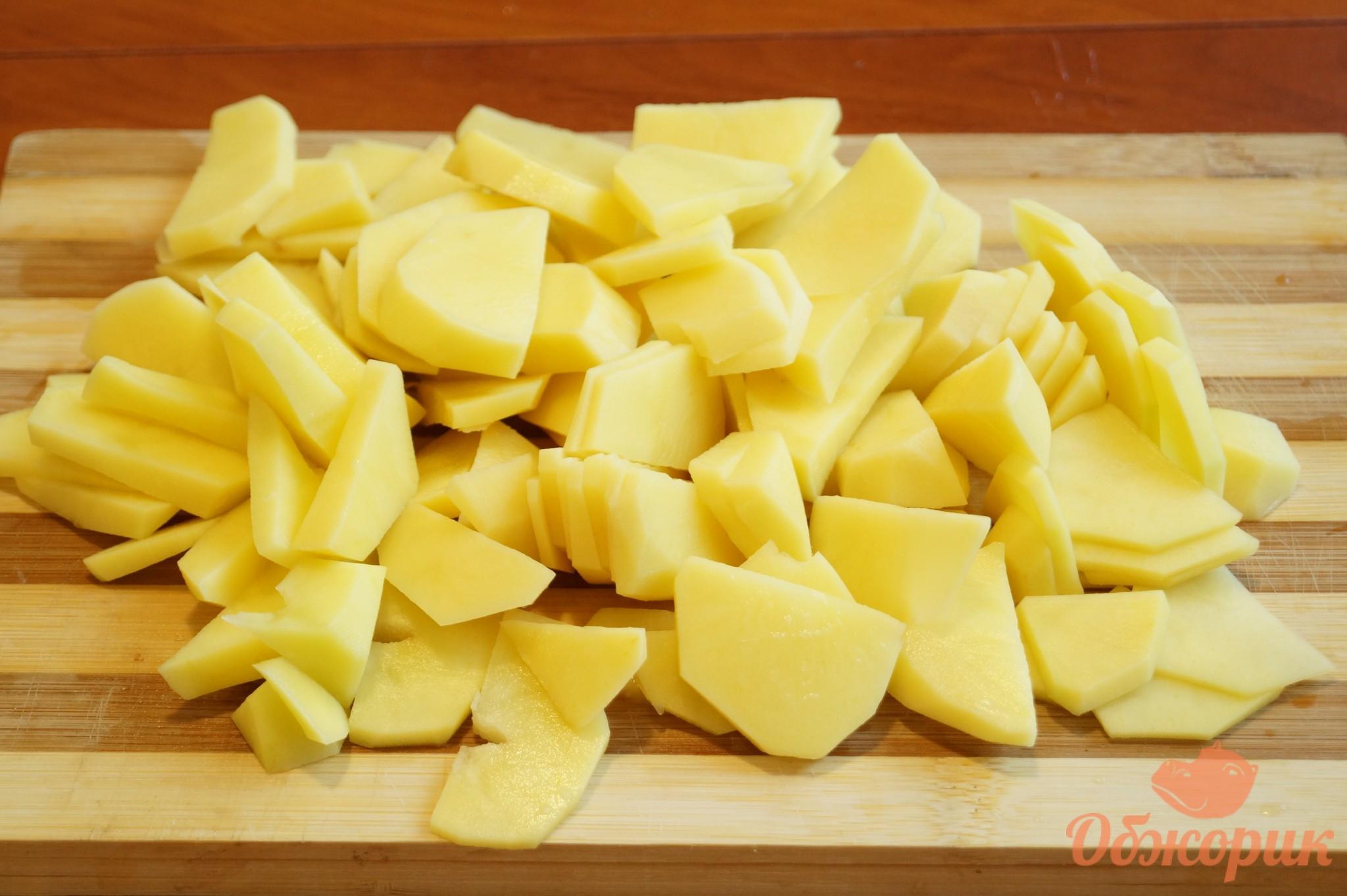 Приготовление жареной картошки пошагово 19