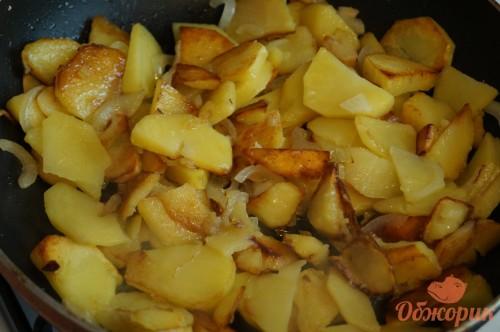 Приготовление жареной картошки