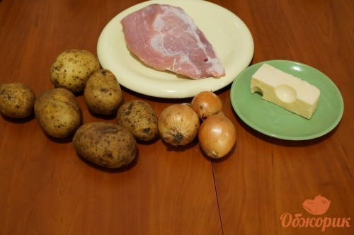 Приготовление свинины под шубой