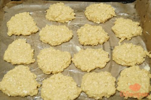 Приготовление овсяного печенья
