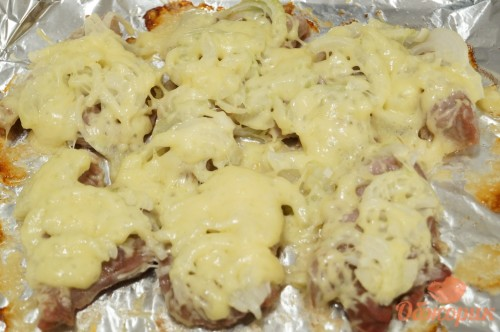 Свинина французски пошаговый рецепт с фото