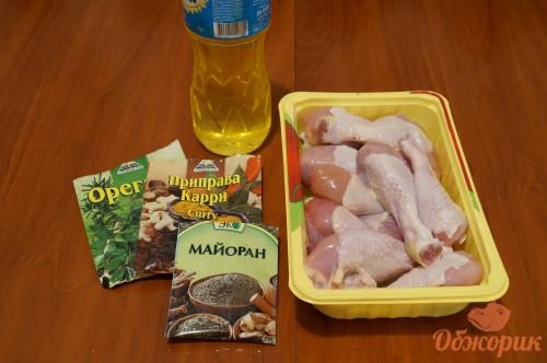 Приготовление жареных куриных голеней