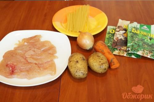 Приготовление куриного супа