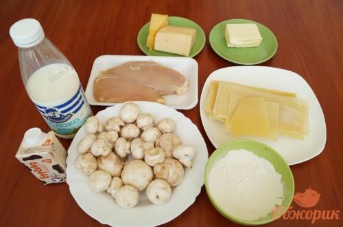 Приготовление лазаньи, рецепт