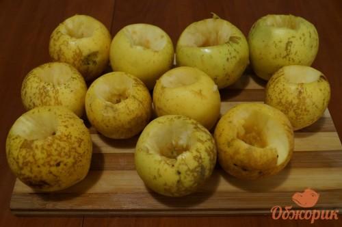 Запекание яблок