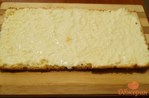 Приготовление карамельно-кокосового торта