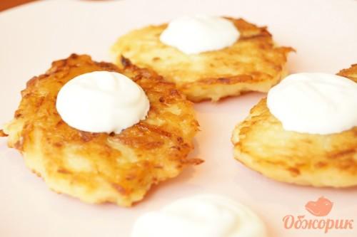 Картофельные деруны рецепт