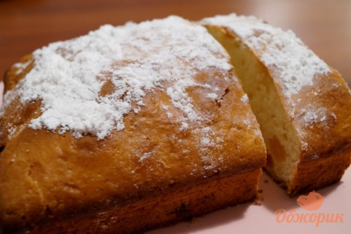 Рецепт кекса с курагой