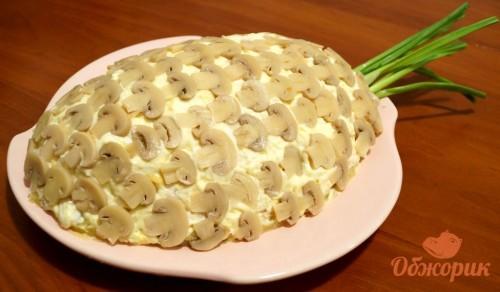 Приготовление салат ананас