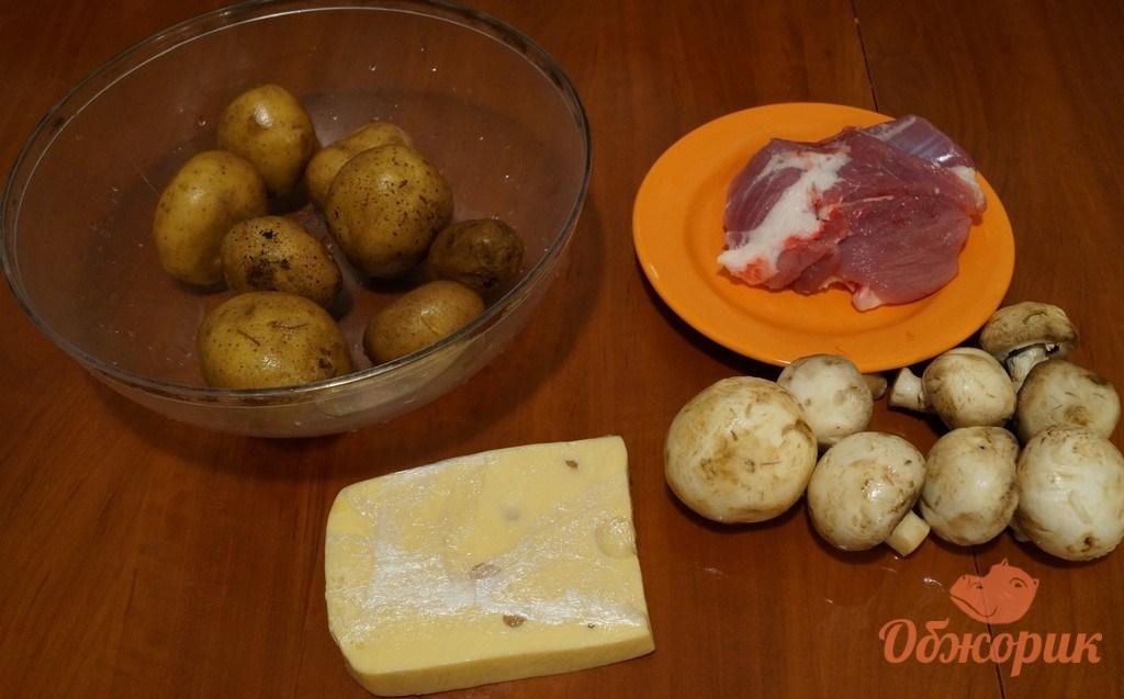 Картошка в горшочках с фаршем в духовке рецепт 23