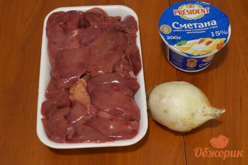 Приготовление жареной куриной печени