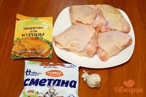 Приготовление куриных бедер