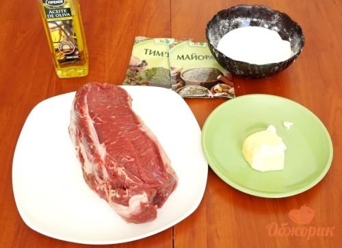 Приготовление бифштексов из говядины