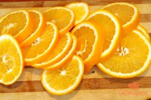 Приготовление курицы с апельсинами