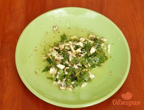 Приготовление дорадо под сырным соусом