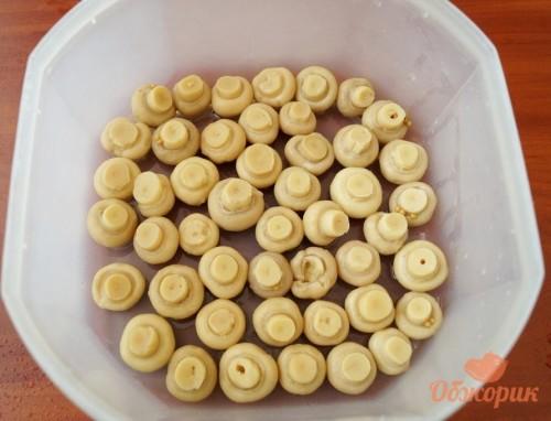 Приготовление салата грибная поляна