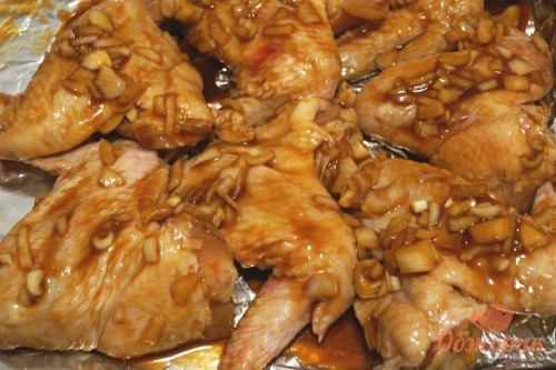 Приготовление крылышек в маринаде