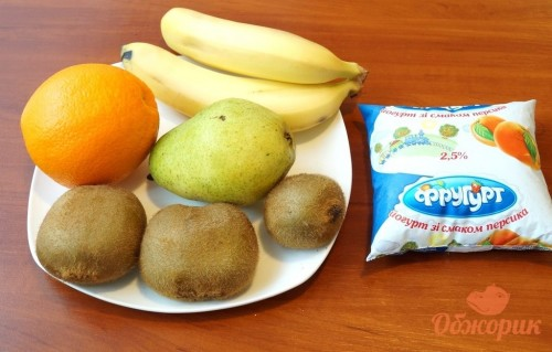 Приготовление фруктового салата