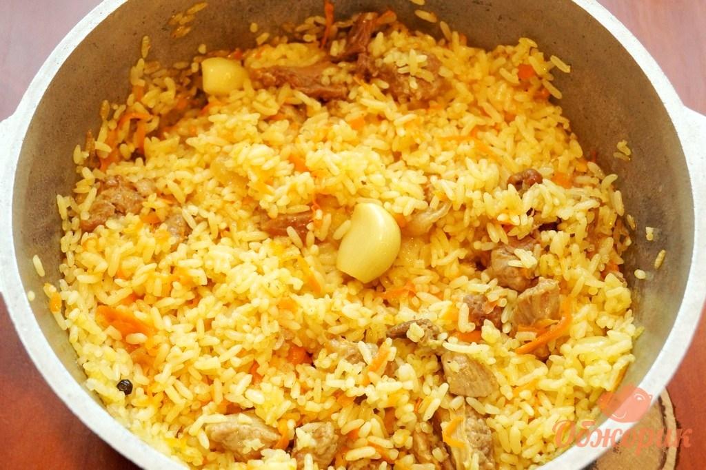 Рис тушеный с овощами в мультиварке рецепт с фото