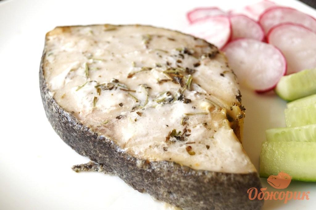 Рецепт стейка из рыбы