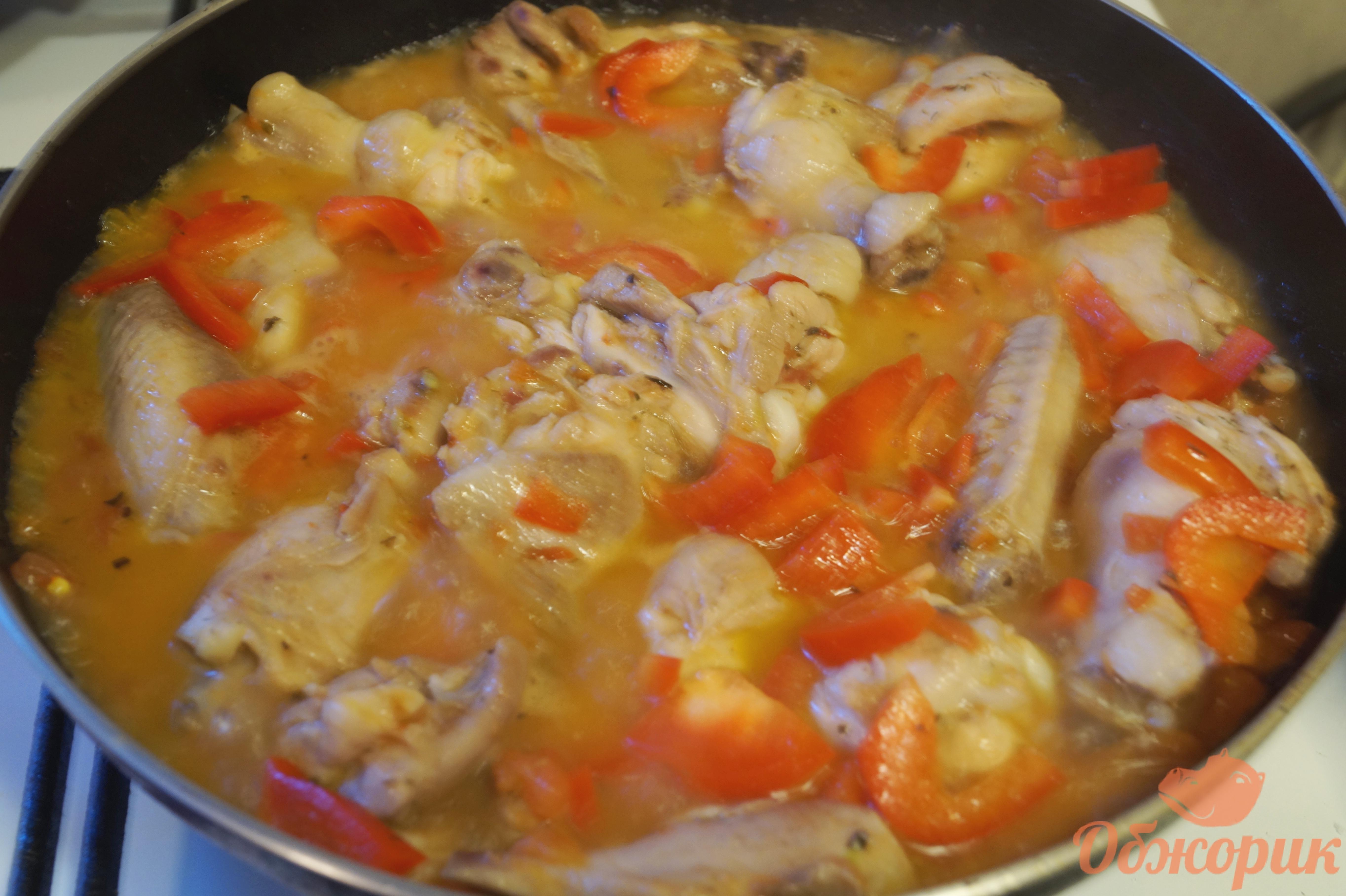 Чахохбили из курицы с рецепт пошагово в духовке