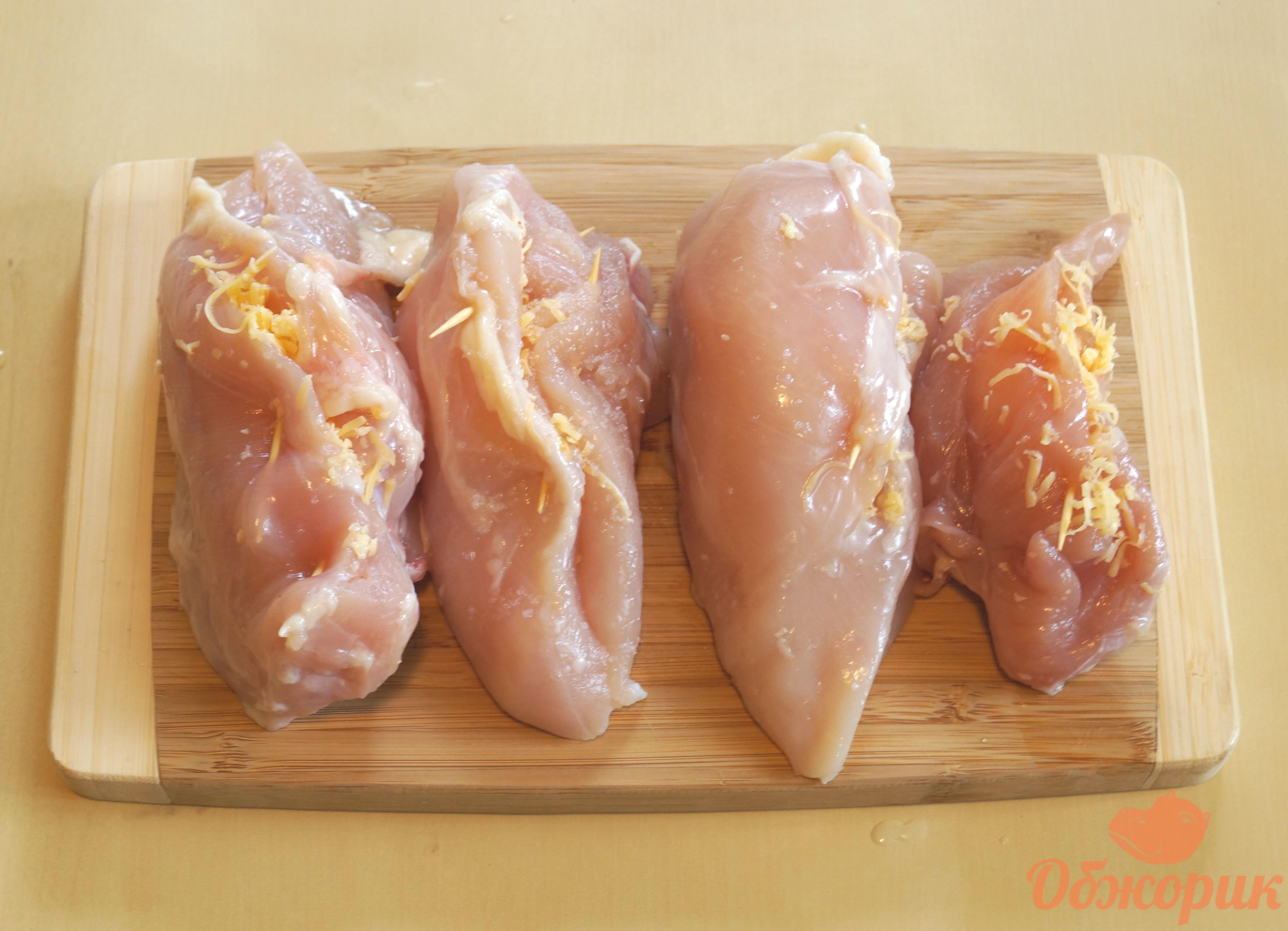 Куриный кармашек пошаговое