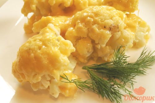Вкусная цветная капуста рецепт пошагово
