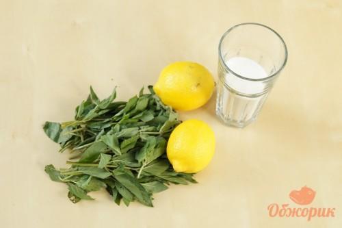 Приготовление лимонада