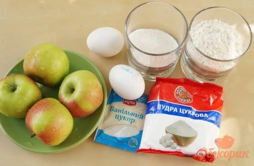 Приготовление яблочных оладьев