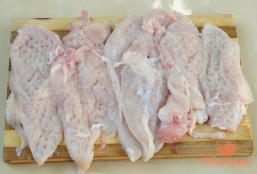 Приготовление куриного шницеля