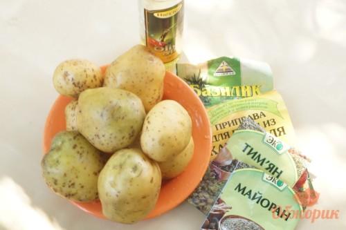 Приготовление картофеля по-деревески
