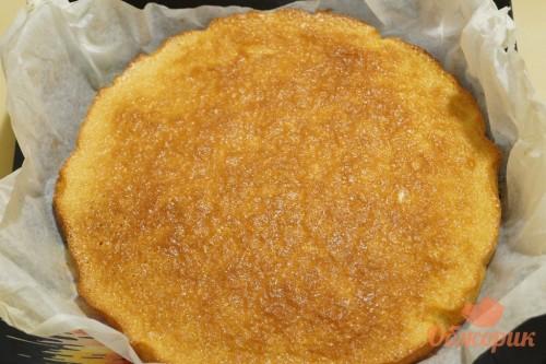 Приготовление трехслойного торта