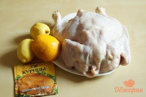 Приготовление запеченной курицы