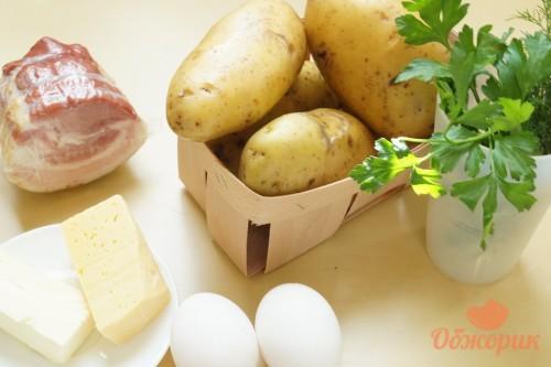 Приготовление фаршированного картофеля