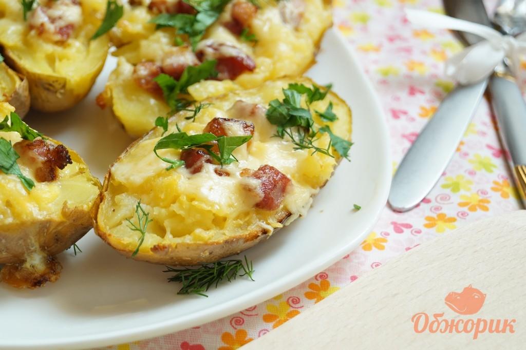 Как приготовить запеченную картошку в духовке рецепт