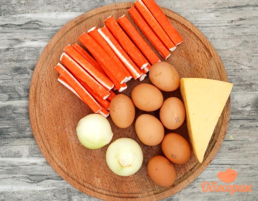 рецепт салата колбаса и крабовые палочки