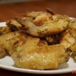 Жареные куриные крылышки рецепт