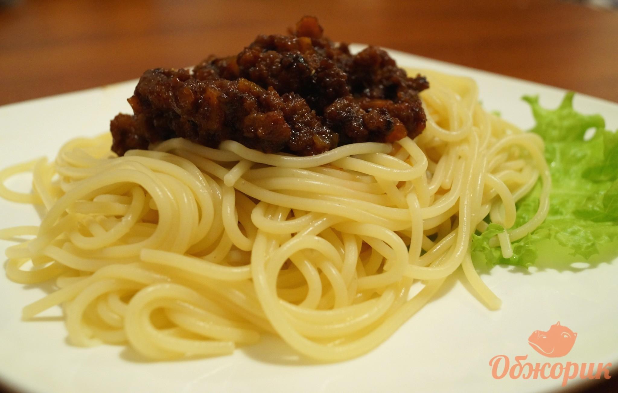 Спагетти Болоньезе