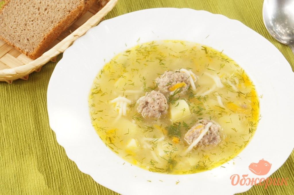 суп из макарон с картинками также