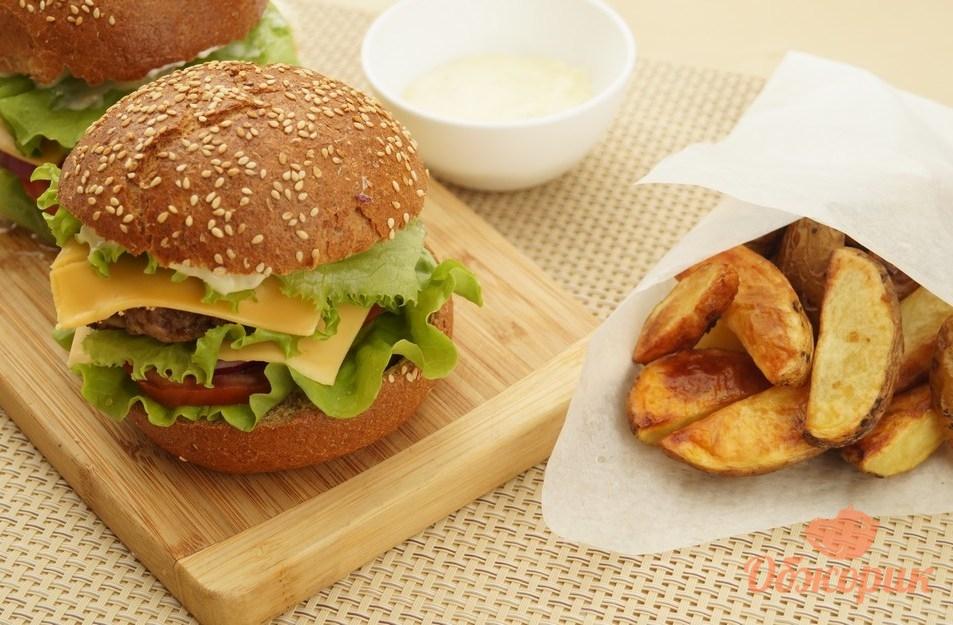 Домашние бургеры рецепт